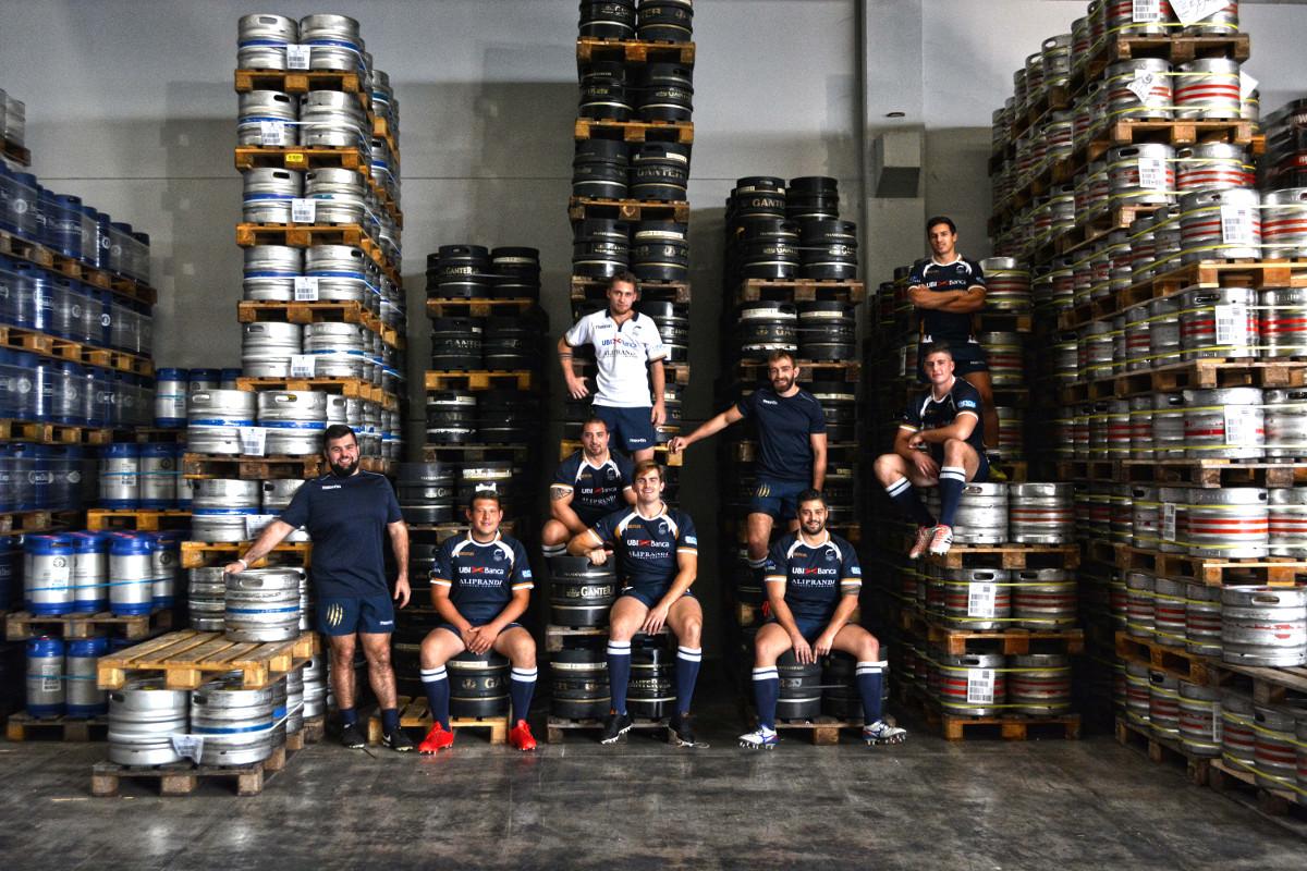 Anche per il 2018 Aliprandi Beverage partner  ufficiale del Rugby Brescia