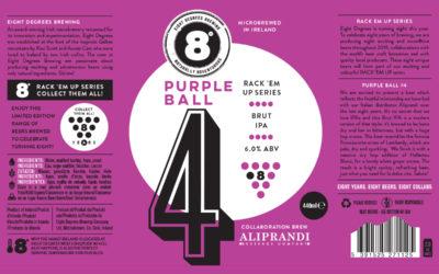 Una Birra nata dalla collaborazione tra 8 Degrees e Aliprandi